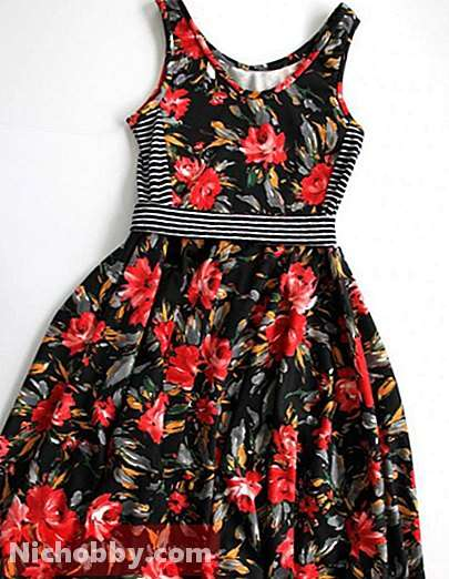Nuances and possibilities: how to sew a sundress