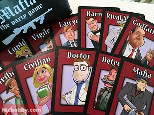 How to play mafia?  Rules and recommendations, Board games - 2019