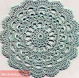 Round crochet motifs: types, shapes, patterns