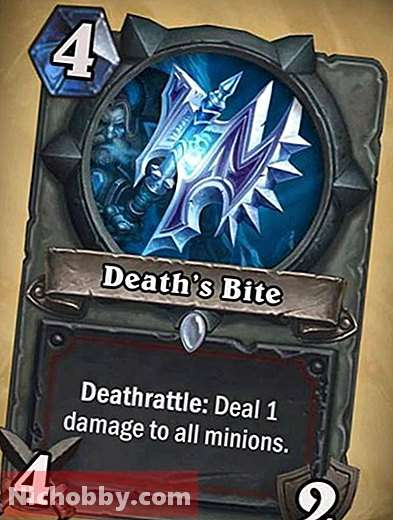 """Hearthstone: how to get a """"death bite""""?  Where can I get the """"Death Bite"""" in Hearthstone?, Board games - 2019"""